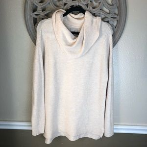 Loft brand cream turtle neck sweater